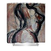 Figure3 - Nudes Gallery Shower Curtain