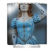Figurehead Shower Curtain