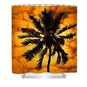 Fijian Sunset Shower Curtain