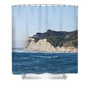 Fiki Bay 2 Shower Curtain