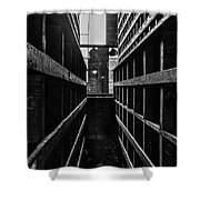 Filed Shower Curtain