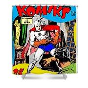 Filipino Action Comics Shower Curtain