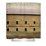 Filley Stone Barn South Side Shower Curtain