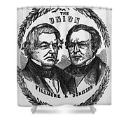 Fillmore Campaign, 1856 Shower Curtain