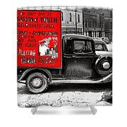 Film Homage Assassin Of Youth 1937 John Vachon Omaha Nebraska 1937-2010  Shower Curtain