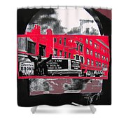 Film Homage Funeral In Berlin 1966 Orpheum Winter Carnival Parade Collage St. Paul Mn 1967-2008  Shower Curtain