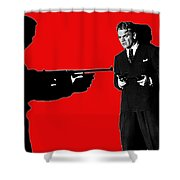Film Homage James Cagney Angels With Dirty Faces 1939-2014 Shower Curtain