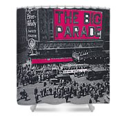 Film Homage John Gilbert King Vidor The Big Parade 1925 Color Added 2010 Shower Curtain