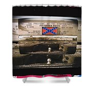 Film Homage Rock Hudson The Undefeated 1969 Apache Owned Pickup Tucson Az  Collage 1985-2012  Shower Curtain