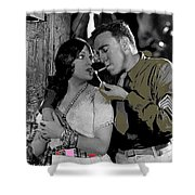 Film Homage Sadie Thompson 1 Gloria Swanson And Raoul Walsh 1927-2014 Shower Curtain