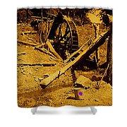Film Homage Sergei Eisenstein Sutter's Gold 1930 Mining Sluice 1880's-2008 Shower Curtain