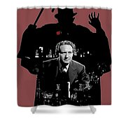 Film Homage Spencer Tracy Dr. Jekyll And Mr. Hyde 1941-2014 Shower Curtain