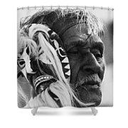 Film Homage The Yaqui 1916 Pascola Dancer New Pascua Arizona 1969-2008   Shower Curtain