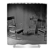 Film Noir Dick Powell Edward Dmytryk Cornered 1945 3 Antlers Hotel Victor Colorado 1971 Toned 2012 Shower Curtain