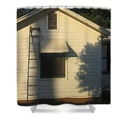 Film Noir John Garfield Lana Turner The Postman Always Rings Twice Ladder House Black Canyon Az Shower Curtain