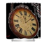 Film Noir Ray Milland Charles Laughton John Farrow The Big Clock 1948 Clock Casa Grande Arizona 2004 Shower Curtain