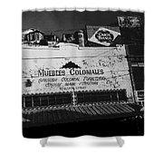 Film Noir Robert Mitchum Where Danger Lives 1950 1 Border Town Nogales Sonora Mexico Shower Curtain