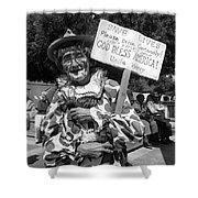 Film Noir Robert Siodmak  George Sanders Strange Affair Of Uncle Harry Clown Tucson Arizona Shower Curtain