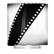 Film Strip Shower Curtain by Tim Hester