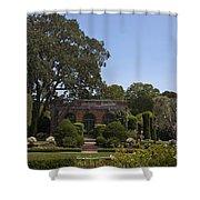 Filoli Sunken Garden Shower Curtain