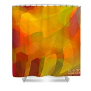 Filtered Shower Curtain by ME Kozdron