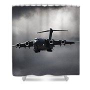 Final Approach Shower Curtain