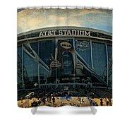 Finals Madness 2014 At Att Stadium Shower Curtain