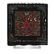 Finding The Light Mandala Shower Curtain
