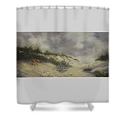 Finding Treasure Shower Curtain
