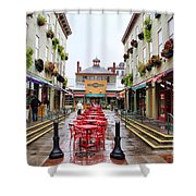Findlay Market In Cincinnati 0003 Shower Curtain