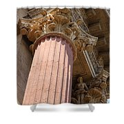 Fine Arts Palace Pillar Detail Shower Curtain