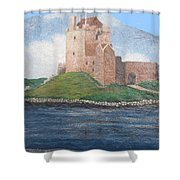 Fine Irish Castle Shower Curtain