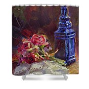Finer Things Still Life By Karen Whitworth Shower Curtain