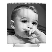 Finger Food Shower Curtain