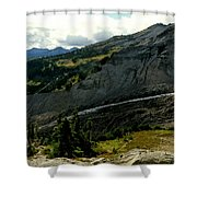 Finger Of Nisqualy Shower Curtain