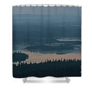 Finish Lakeland In The Mist Shower Curtain