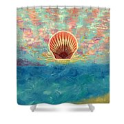 Finisterra Shower Curtain