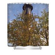 Finns Point Rear Range Light Shower Curtain