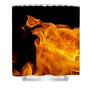 Fire 006 Shower Curtain