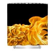 Fire 016 Shower Curtain