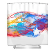 Fire And Ice Smoke II Shower Curtain