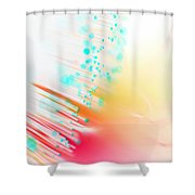 Fire And Light Shower Curtain