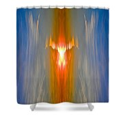 Fire Bird Shower Curtain