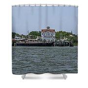 Fort Sumter Pilot  Shower Curtain