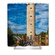 Fire Control Tower No. 23 Shower Curtain