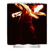 Fire Dancer 1 Shower Curtain