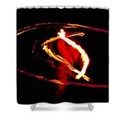 Fire Dancer 2 Shower Curtain