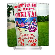 Fire Dept. Carnival Shower Curtain