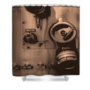 Fire Engine Number Six Shower Curtain