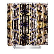 Fire Escapes - New York City Shower Curtain